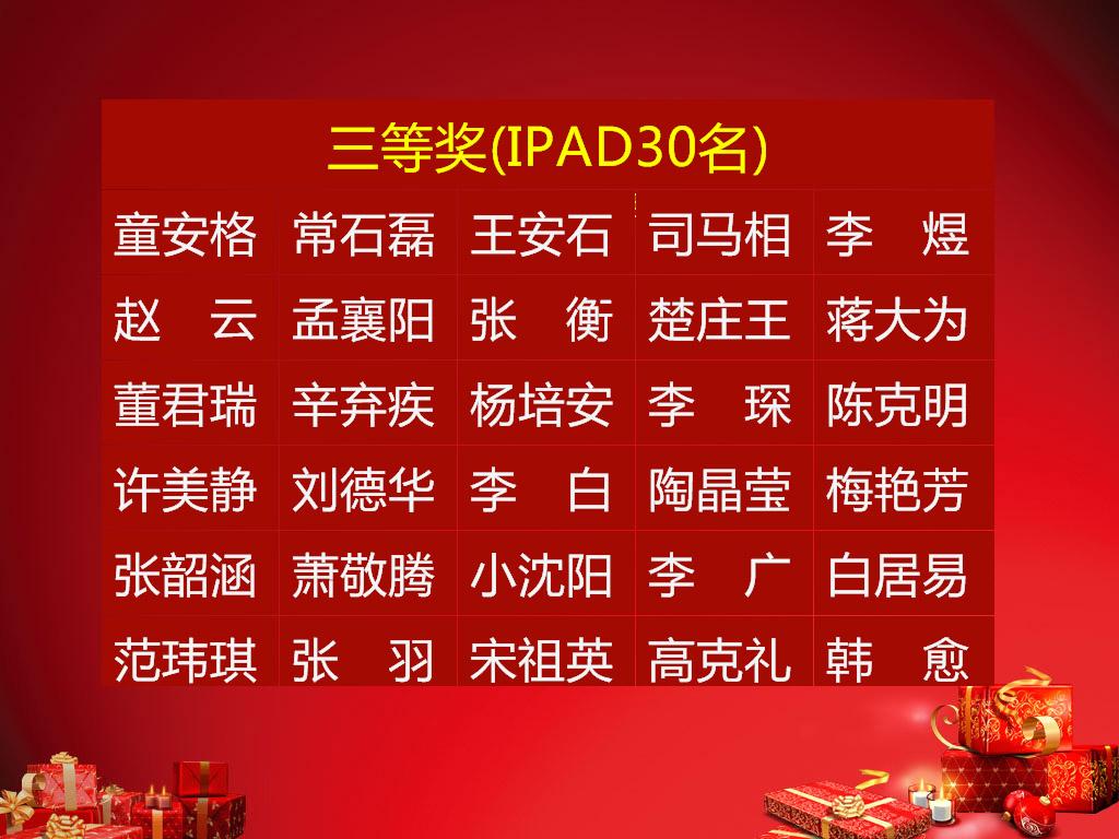 吉祥抽奖软件 for Winxp Win7截图1