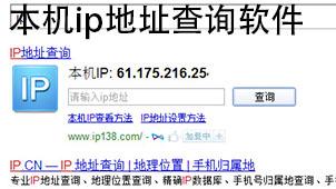 本机ip地址查询软件