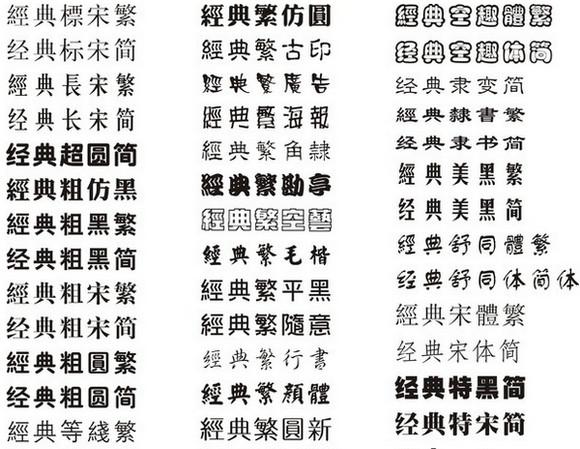 最全中华字库截图1