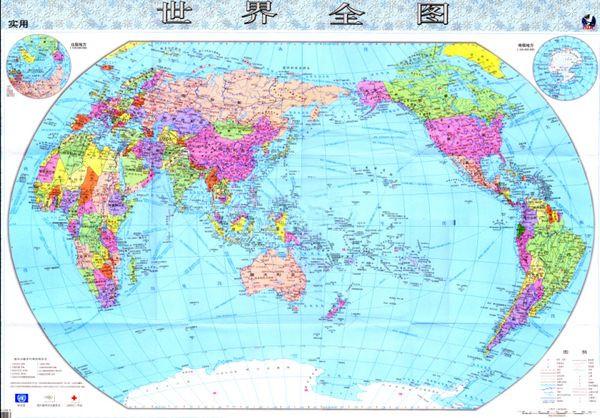 超高清晰巨幅世界地图截图