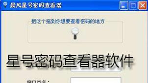 星号密码查看器软件下载
