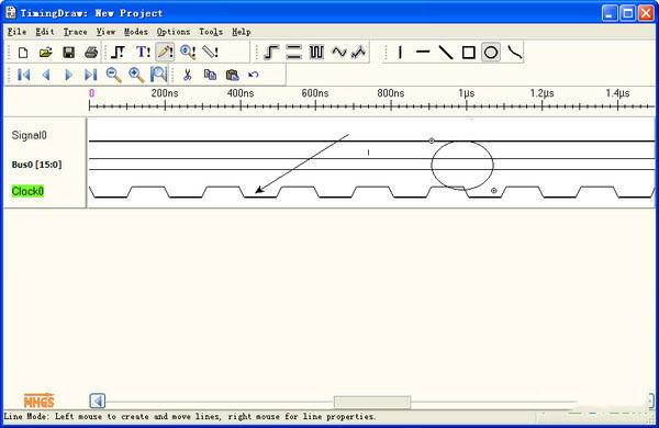 时序图编辑软件截图