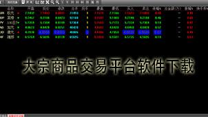 大宗商品交易平台软件下载