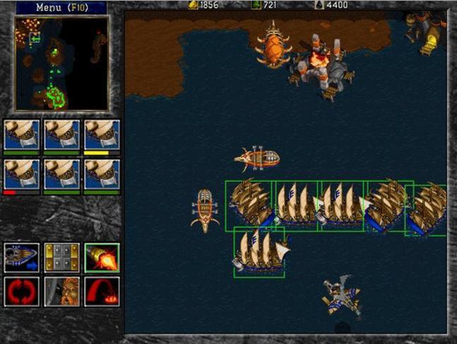 FreeCraft 魔兽争霸II截图1