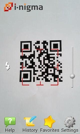 二维条码扫描i-nigma 2D Barcode Reader截图1