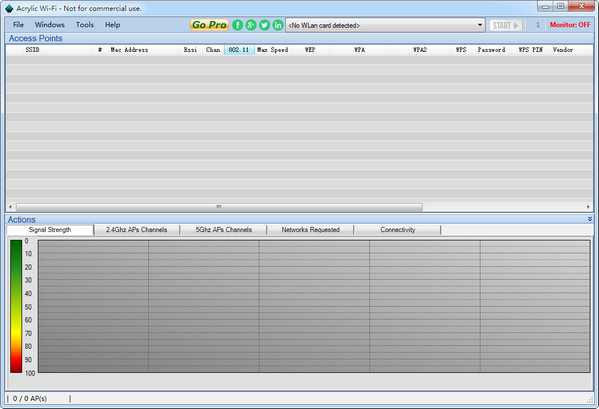 笔记本蹭网软件AcrylicWi-Fi截图1