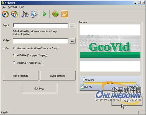 VidLogo视频工具截图1