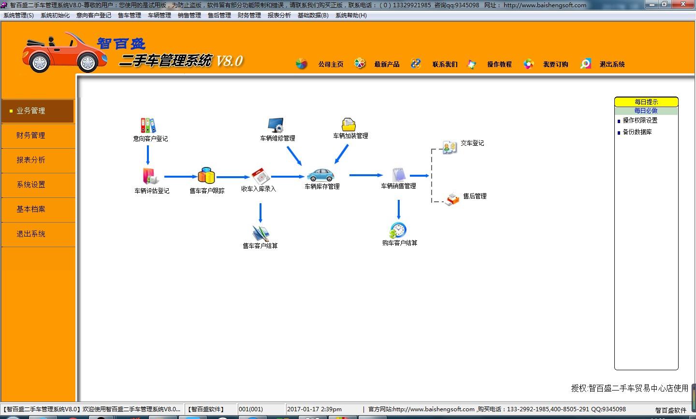 智百盛二手车管理软件截图2