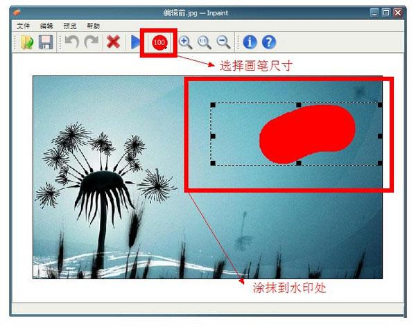 Inpaint图片去水印软件截图3