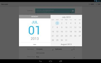 Google日历手机软件截图