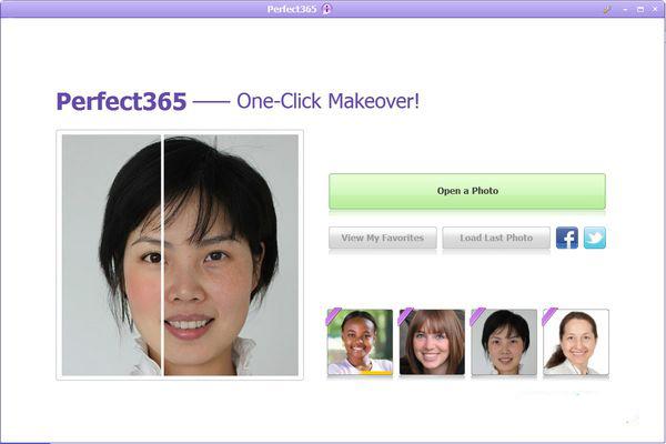 照片美化软件ArcSoftPerfect365截图