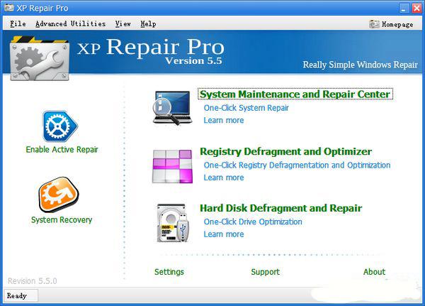 系统修复优化XPRepair截图1