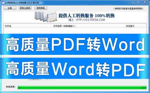 PDF转换WORD软件大全