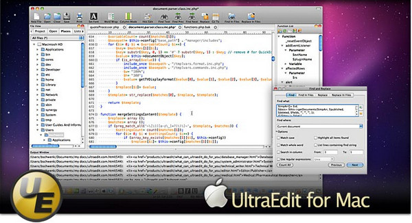 UltraEdit For Mac截图