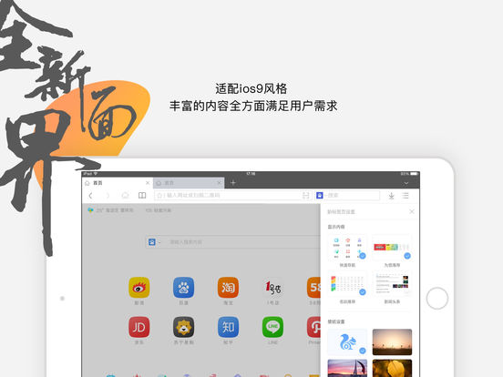 UC浏览器HD截图