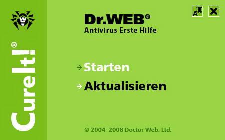 Dr.Web CureIT!截图