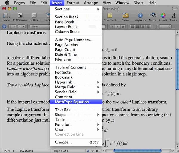 MathType数学公式编辑器 mac版截图