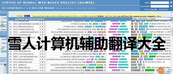 雪人计算机辅助翻译大全
