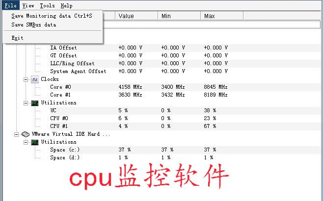 cpu监控软件专题