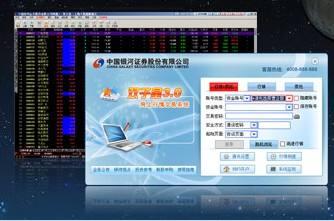 中国银河证券双子星行情交易系统截图1