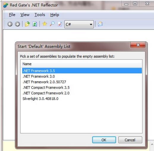 .NET Reflector截图