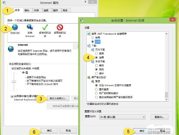 IE8 Internet Explorer截图