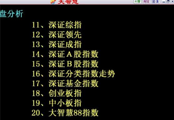大智慧5.99经典版