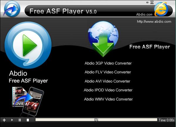 Abdio Free ASF Player截图