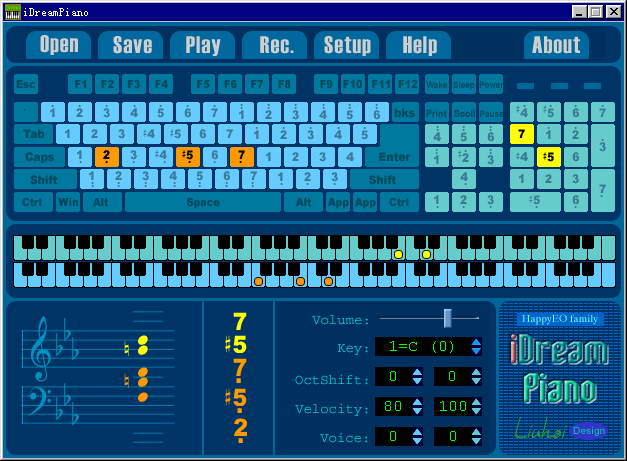iDreamPiano钢琴模拟截图