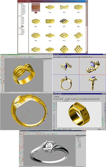 珠宝设计软件(JewelCAD Pro)截图