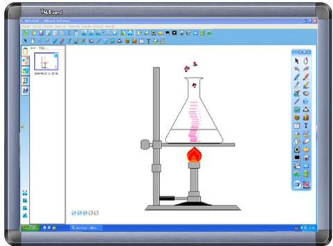 IQBoard交互式电子白板软件截图