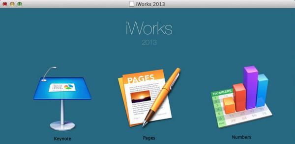 iWork 2013截图