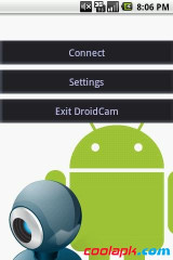 Wifi网络摄像头:DroidCamX Wireless Webcam Pro