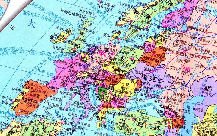 超高清楚世界地图