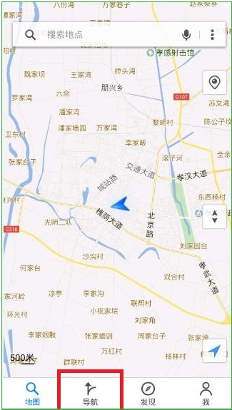 腾讯地图截图