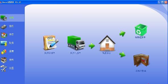 Excel进销存截图