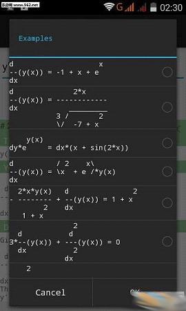 微分方程计算器(Differential Equations)截图