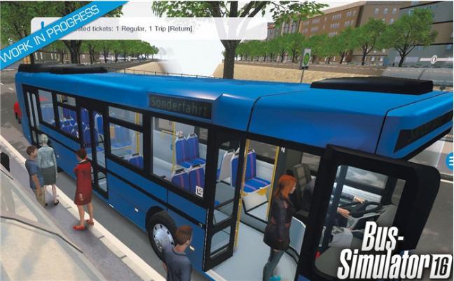 巴士模拟16(Bus Simulator 16)截图