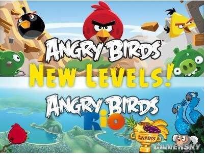 愤怒的小鸟里约大冒险截图