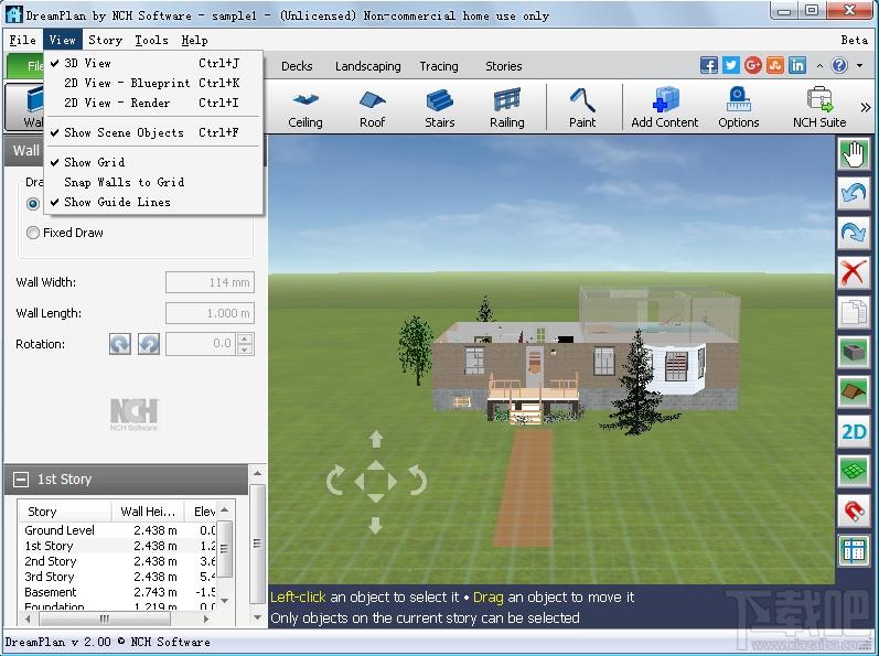 房屋设计软件DreamPlan截图