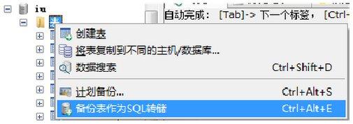 SQLyog截图