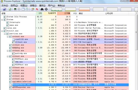 Process Explorer截图2
