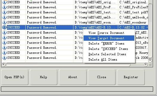PDF Password Remover截图