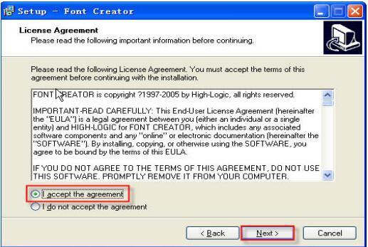 FontCreator截图