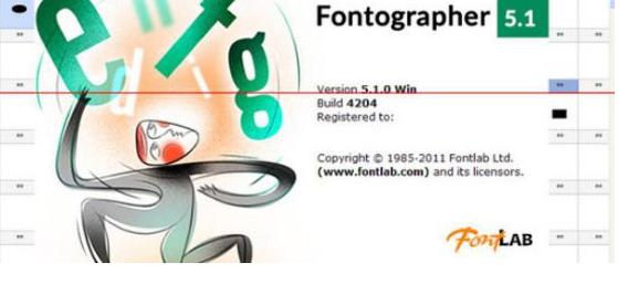 字体设计软件(fontographer)