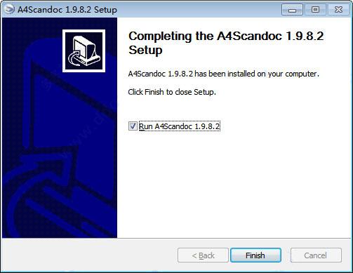自动扫描软件(A4ScanDoc)截图