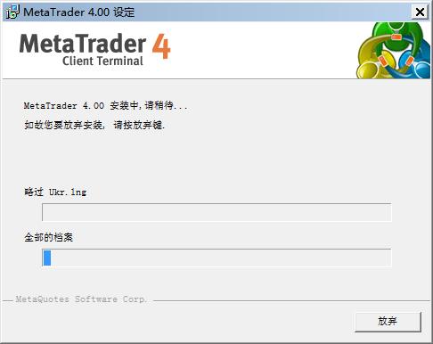 MT4(MetaTrade)移动平台