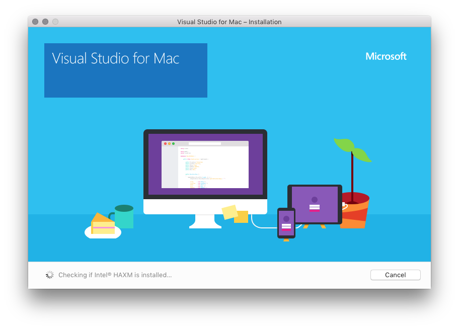 VisualStudio 2019 for Mac截图