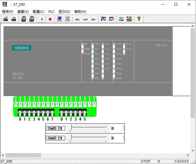 西门子plc仿真软件(s7-200)截图