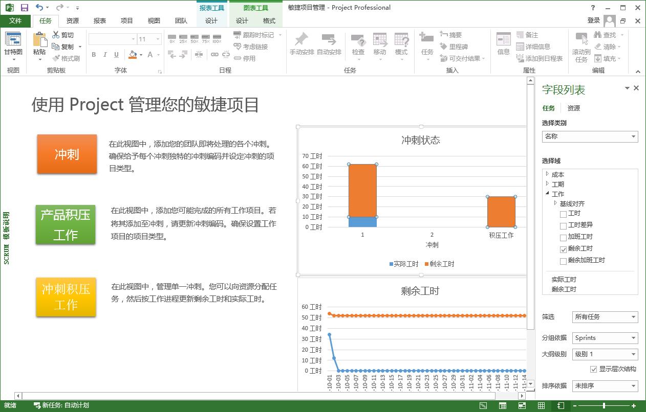 Microsoft Project截图1